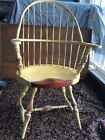 """ Tall Windsor Chair Painted To Look Older"