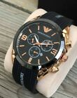 Emporio Armani Mens Watch Model 4061 STUNNING AND RARE - NEW - GREAT PRICE!