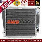 4Row ALL Aluminum Radiator For 66 77 Ford Bronco Wagon Roadster L6 50L 302 V8