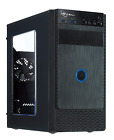 ROSEWILL Micro ATX Mini Tower Computer Case Black Steel and plastic computer 1x