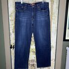 Lucky Brand Mens Jeans Size 36X30 Vintage Straight Distressed