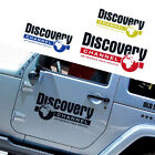 16 Discovery Channel Logo Car Sticker Auto Decal Door Vinyl Reflective for Jeep