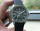 PATEK PHILIPPE 5164A  AQUANAUT 5164A-001 STAINLESS STEEL TROPICAL RUBBER STRAP