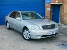 2002 LEXUS LS430 AUTO SILVER IMMACULATE CAR PX WELCOME