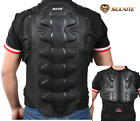 Mens Motorcycle Body Armor Vest Jacket Spine Chest Protection Riding Gear Guard