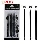 Set Pure Sketch Woodless Charcoal Pencil Painting Drawing Tool Carbon Pens