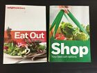 Weight Watchers 2012 Eat Out  2013 Shopping Guides Lot of 2