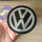 For Volkswagen Vw Sticker Aluminum Size 56-90mm Emblem Decal Logo Set Of 4pcs