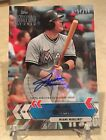 2017 Topps National Baseball Card Day Auto Justin Bour # 200 SSP Very Hard Pull