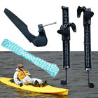 Watercraft Canoe Kayak Boat Rudder Foot Control Direction With Stand support kit