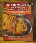 Weight Watchers Quick and Easy Menu Cookbook  Over 250 Seasonal Recipes and Men