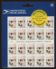 2001 Love Letters Non Denominated Stamp Sheet Scott 3496a MNH Sealed