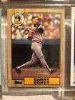 Topps 1987 Barry Bonds Rookie # 320 error Card Excellent condition
