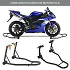 BN Motorcycle Stand Front Rear Swingarm Lift Head Front Forklift Auto Bike Shop