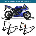 MOTORCYCLE WHEEL LIFT STAND FRONT FORK & REAR SWINGARM SPOOL COMBO SPORT BIKE