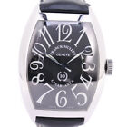 AUTHENTIC FRANCK MULLER 8880C 10th anniversary Casablanca Watches Silver/b...