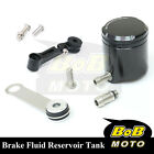 For Ducati StreetFighter S 10-13 Black CNC Front Brake Cylinder Fluid Oil Tank