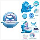 TRSCIND Baby Pool Float Swimming Floats Inflatable Shark Baby Floatie with Canop