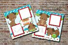 Pet Puppy Dog 2 PRINTED Premade Scrapbook Pages BLJgraves 32