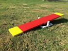 Dog Agility Equipment Teeter Training With 5 ft Board And Base