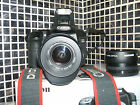 Canon EOS 40D 10.1 MP Digital SLR Camera -   WITH THREE LENSES