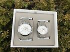 NEW FOSSIL Grant Chronograph Stainless Steel Watch Box Set BQ2180SETP Gift Set
