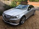 LARGER PHOTOS: 2010 MERCEDES BENZ E500 SPORT COUPE 5.5 V8.18k MILES. 1 PREV OWNER,FMBSH.SUPERB.