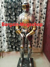 Medieval Knight Suit of Armor 17th Century Combat Full Body Armour FREE Stand