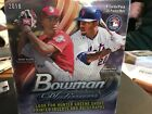 2018 Bowman Platinum Wax Box 20 Packs And 2 Autos Per Box. Retail Only And Limit