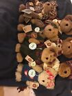 7 Boyds Bears Including 3 Boyds Country Clutter Exclusives From 2001-2002