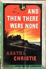 Agatha Christie And Then There Were None First Edition 1944