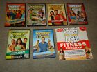 Lot 7 Biggest Loser 6 DVDs 1 Book TV Show Fitness Program Boot Camp Last Chance
