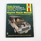 DODGE CARAVAN PLYMOUTH VOYAGER CHRYSLER TOWN COUNTRY 1984-1995 Repair Manual