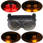 Smoke Tail Light Brake Turn Signals LED for Kawasaki ZR7S ZX6R ZX9R ZZR600 ZX900