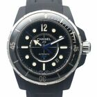 Used Authentic CHANEL J12 Marine H2558 Men Watch Black Ceramic AT Blue with Box
