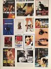 FRANCOIS TRUFFAUT IMAGES OF MOVIE POSTERS MEGA RARE AUTHENTIC 1994 POSTER
