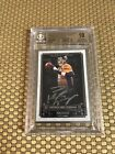2014 TOPPS MUSEUM FRAMED PEYTON MANNING ON CARD SILVER AUTO 14 25 BGS 10 10