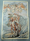 Jody Bergsma Native American Inspired I Am The Wind Cross Stitch Kit Horses