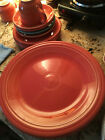Fiestaware Homer Laughlin China Dinner Plates, Cups and Saucers, Side Plates