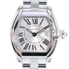 AUTHENTIC CARTIER W62016V3 Roadster SM Watches StainleStainless Steel Stee...