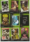 1968 NIGHT OF LIVING DEAD 9 CARD MOVIE POSTER SET GEORGE ROMERO 2012 UNSTOPPABLE