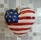Christopher Radko BRAVE HEART Ornament with Tag Red Cross 9/11 Commemorative