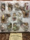 Hawthorne Village Precious Moments The Holy Family  Nativity Figurine Set 2006