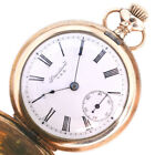 AUTHENTIC USA NEW YORK STANDARD Pocket watch Gold Plated unisex WhiteDial