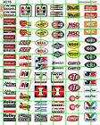4018 DAVE'S DECALS GAS/OIL SET HOT ROD RACING DECAL GARAGE DIORAMA DECALS 1/2
