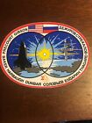 NASA VINTAGE STS 71 ATLANTIS MISSION CREW STICKER DECAL NEW
