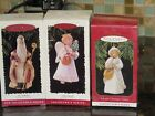 HALLMARK COMPLETE SET  of 3 CHRISTMAS VISITORS COLLECTORS SERIES NIP