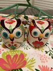 Owl Figurine Salt and Pepper Shakers Pier One