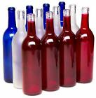 Home Brew Ohio Multi Colored Bottles For Bottle Tree Red White And Blue