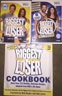 Nintendo Wii The Biggest Loser and The Biggest Loser Challenge + Cookbook